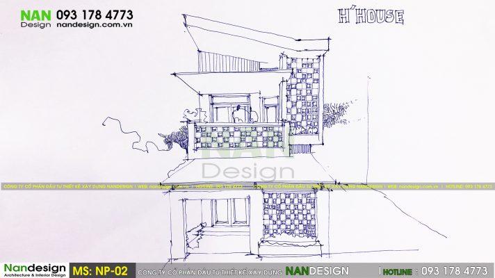 Mẫu thiết kế nhà phố SP-NP-02