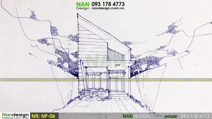 Mẫu thiết kế nhà phố SP-NP-06