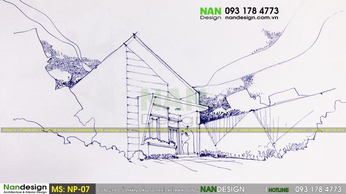 Mẫu thiết kế nhà phố SP-NP-07