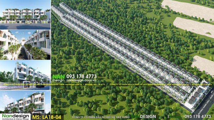 Thiết kế dự án bất động sản- KDC Donasea Villas 3- Phú Quốc
