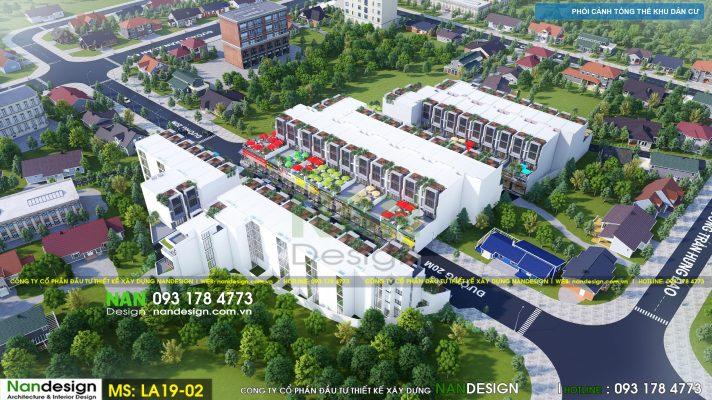 Thiết Kế Dự Án Bất Động Sản- KDC Long Điền Central Residence- Bà Rịa- Vũng Tàu