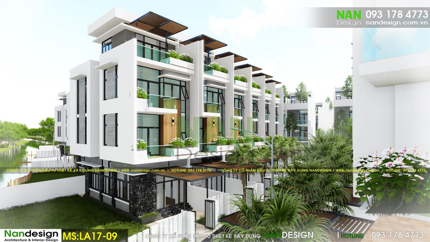 Thiết kế dự án bất động sản- KDC Dona Eco 1 Residence- Long Thành