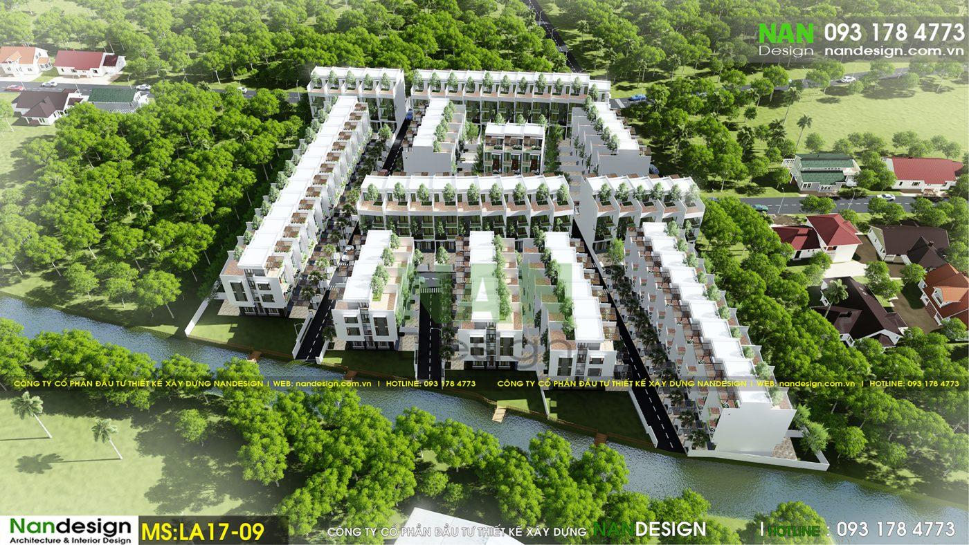Phối Cảnh 3D Dự Án KDC Dona Eco 1 Residence- Long Thành