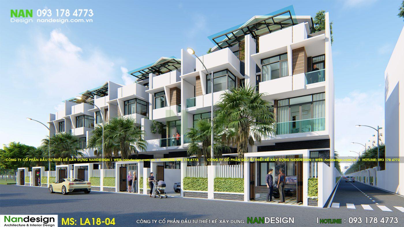 Phối Cảnh 3D Tuyến Phố Dự Án - KDC Donasea Villas 3- Phú Quốc