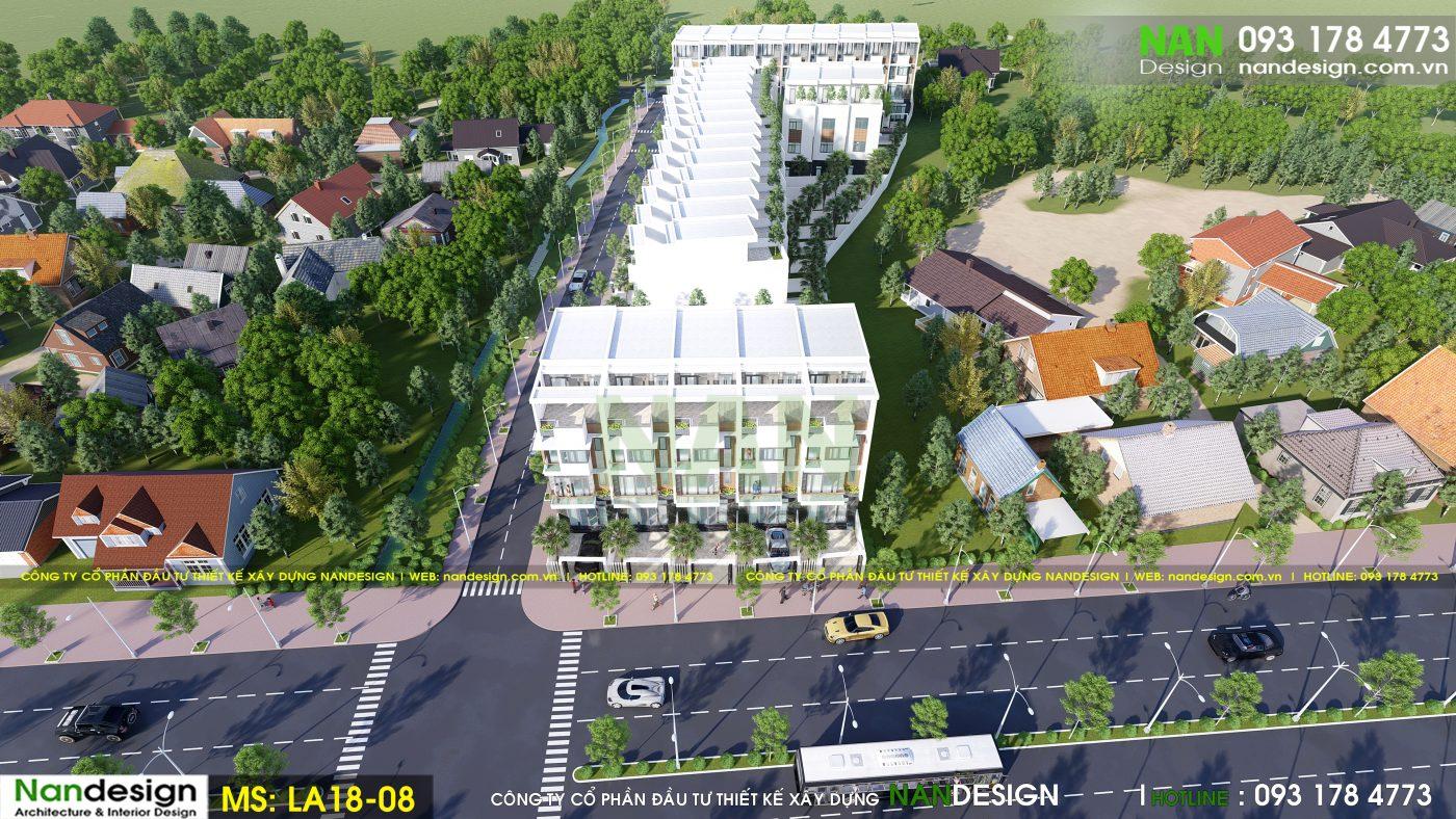Phối Cảnh Tổng Thể 3D Dự Án - KDC Thiên Phúc 2 Residence- Trảng Bom