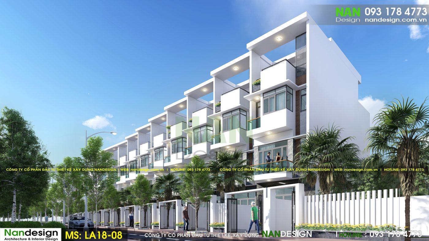 Phối Cảnh 3D Tuyến Phố Dự Án - KDC Thiên Phúc 2 Residence- Trảng Bom