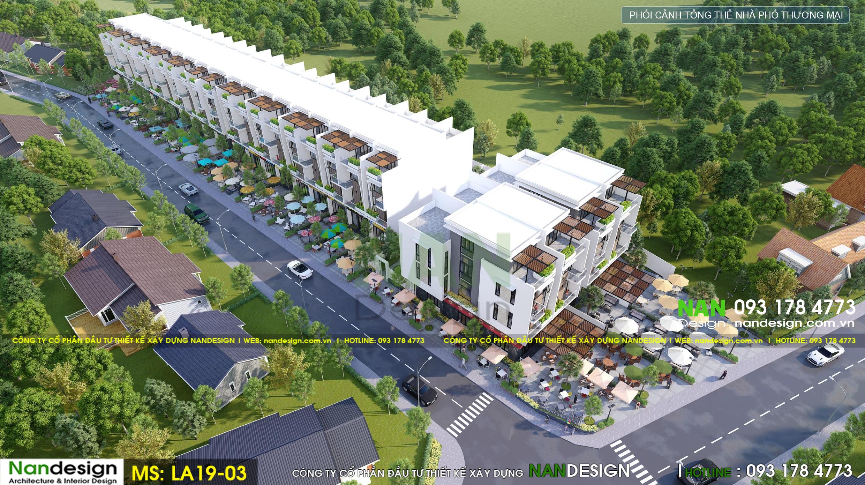 Thiết Kế Dự Án Bất Động Sản- KDC Hồng Phúc Eco Residence- Tây Ninh