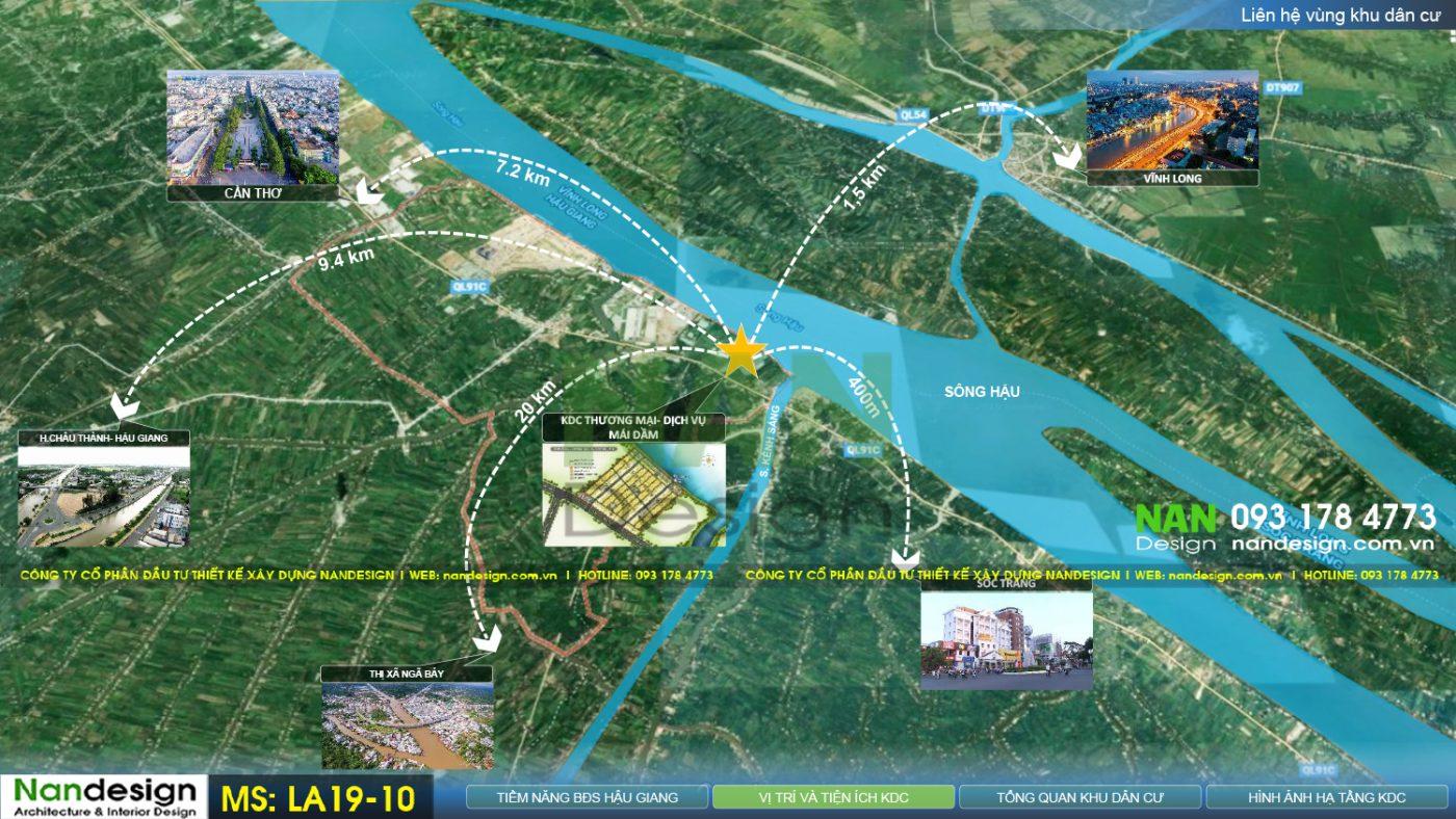 Thiết Kế Dự Án Bất Động Sản- KDC Thương Mại Dịch Vụ Mái Dầm- Vạn Phát- Sông Hậu-Nandesign-Nanmedia