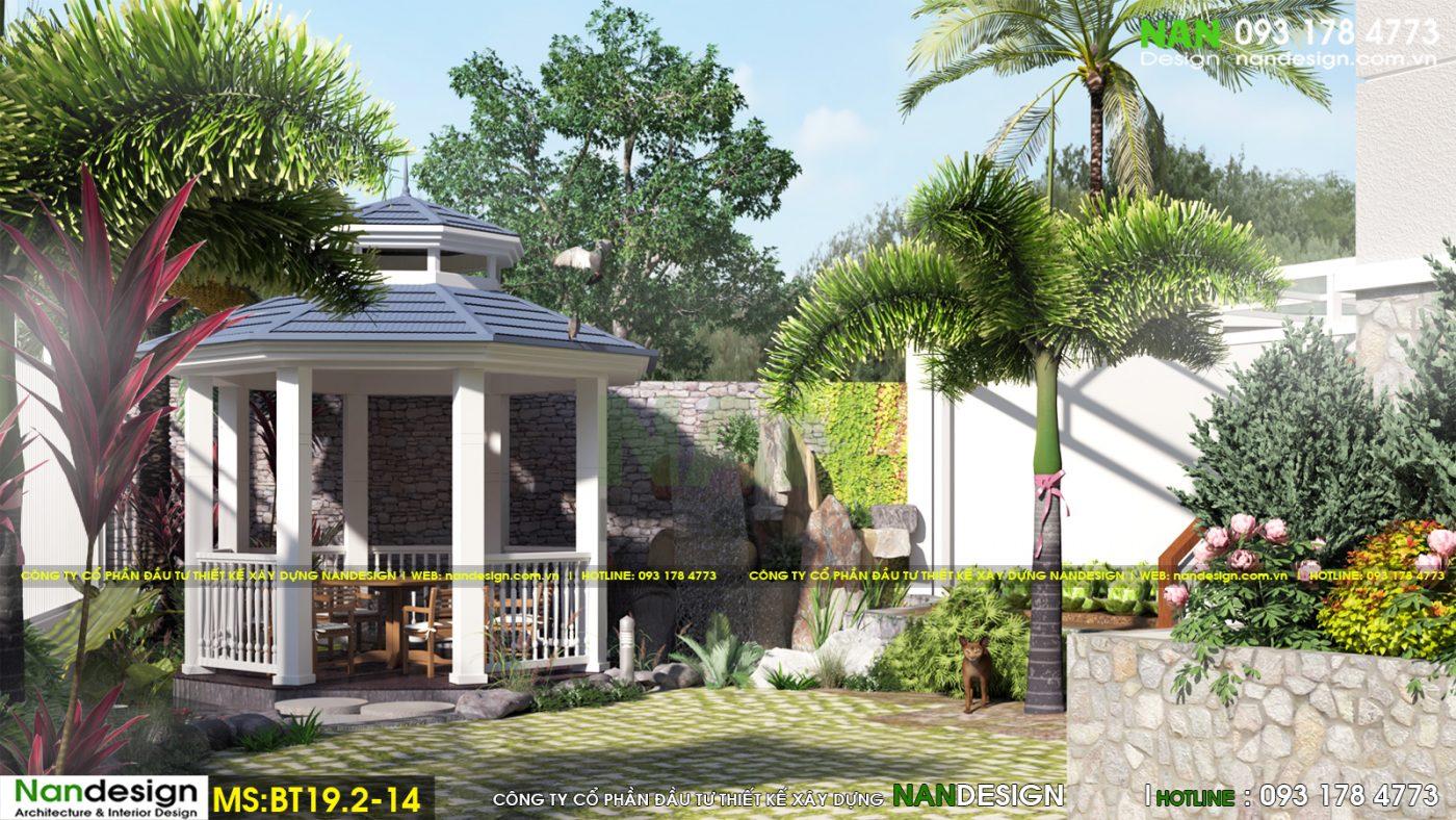 Ngỡ Ngàng Trước Vẻ Đẹp Biệt Thự HIện Đại 2 Tầng Mái Thái