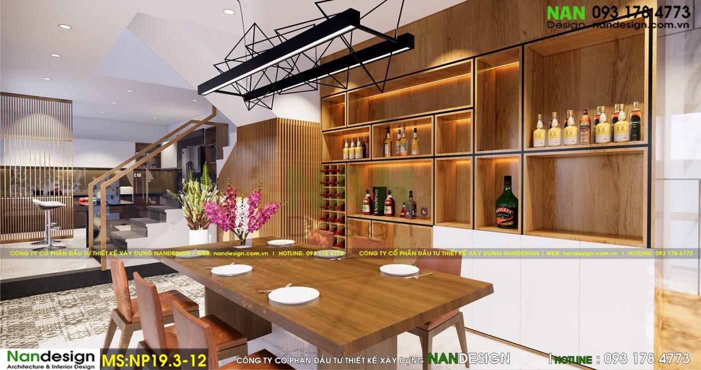 Nội Thất Phòng Ăn Và Bếp Hiện Đại