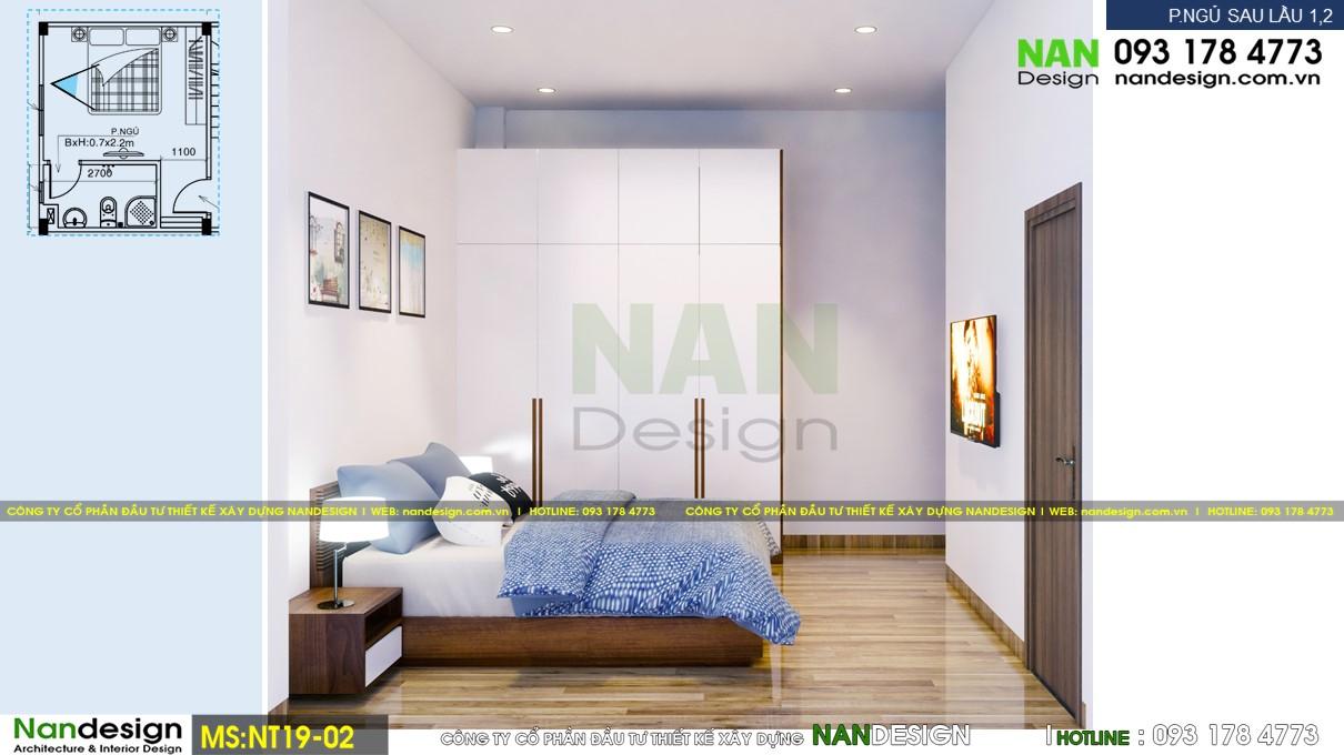 Phối Cảnh 3D Nội Thất Vệ Phòng Ngủ 3 - Góc Nhìn 2