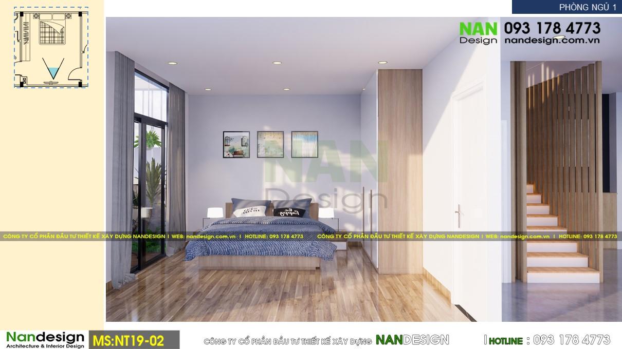Phối Cảnh 3D Nội Thất Phòng Ngủ 1 - Góc Nhìn 1