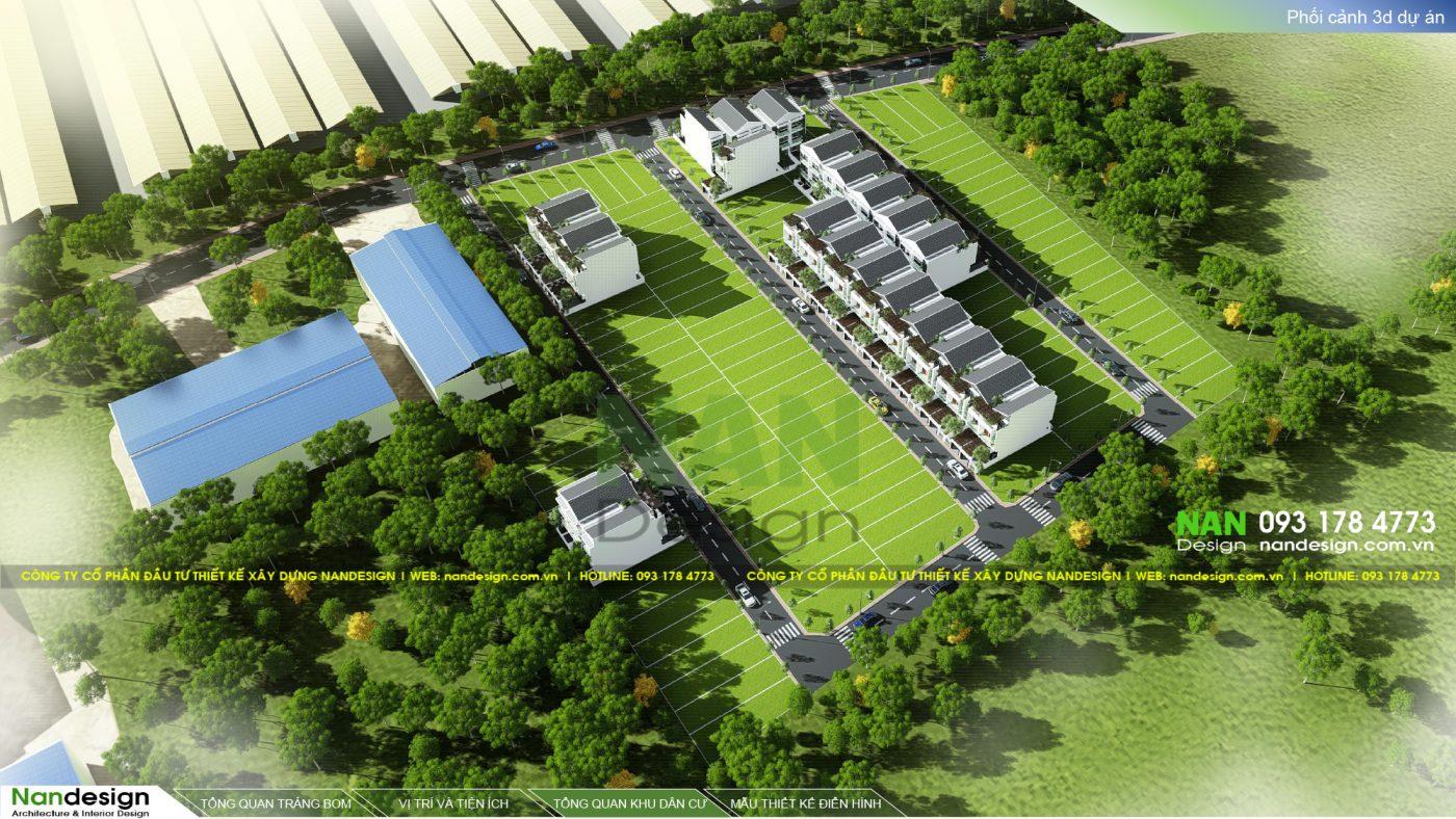 Phối Cảnh 3D Dự Án Bất Động Sản KDC Bình Minh Residence