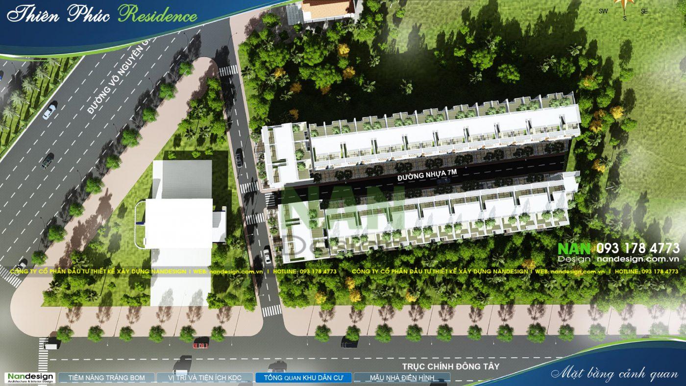 Thiết Kế 3D Cảnh Quan Dự Án Khu Dân Cư Thiên Phúc Residence