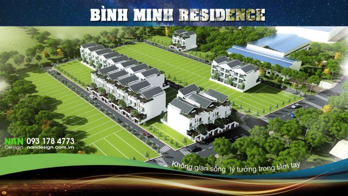 Thiết Kế Dự Án Bất Động Sản KDC Bình Minh Residence