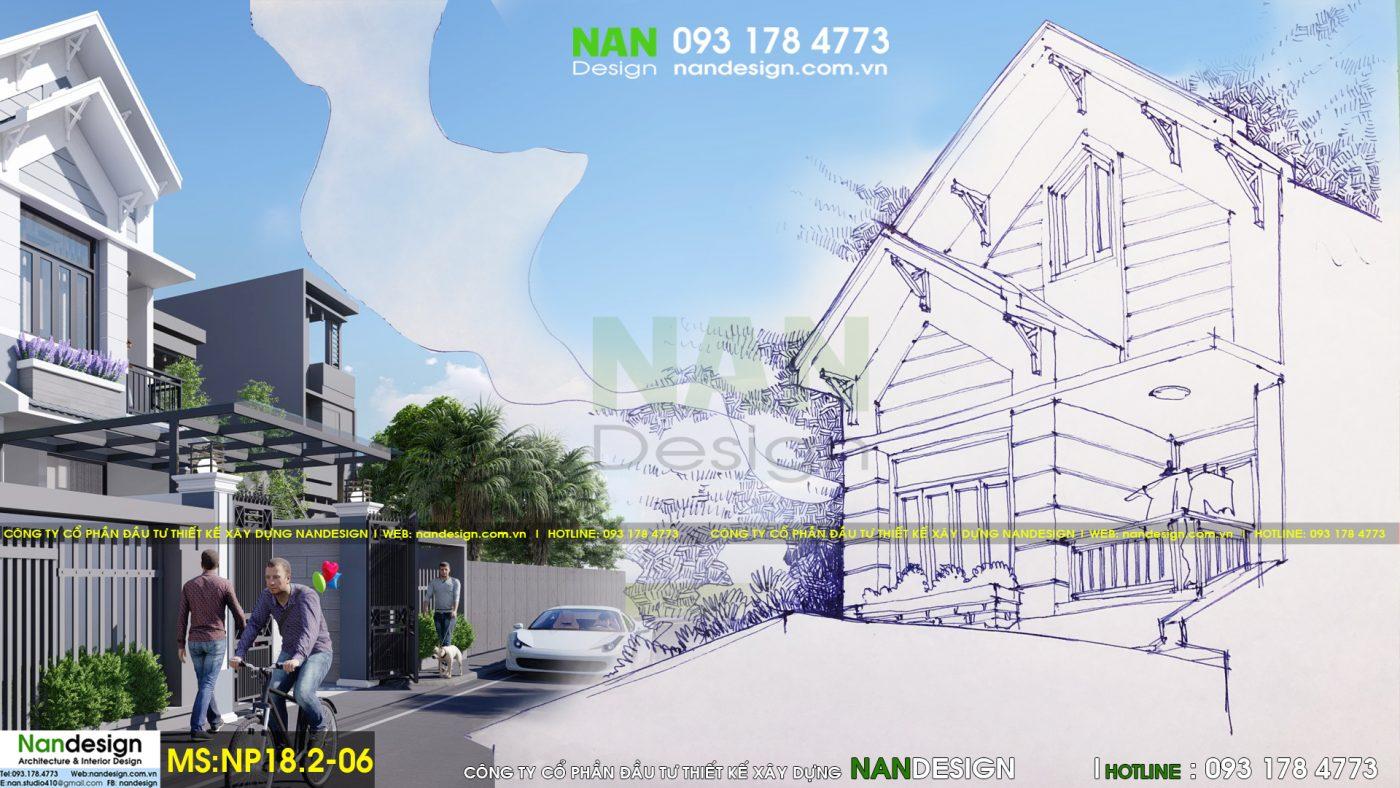 Thiết Kế Nhà Đẹp- Galary Vẽ Tay- Nandesign- Nanmedia