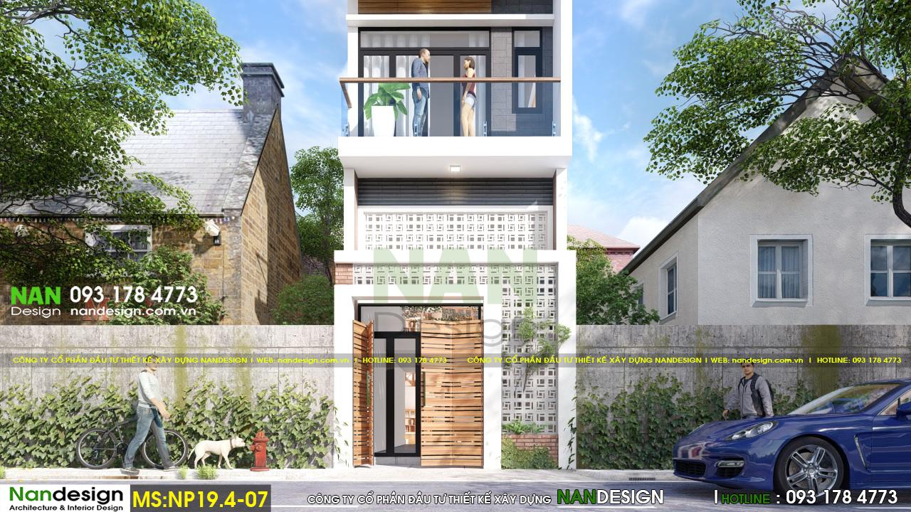 Phối Cảnh 3D Mặt Tiền Và Cổng Nhà Hiện Đại Và Thông Thoáng