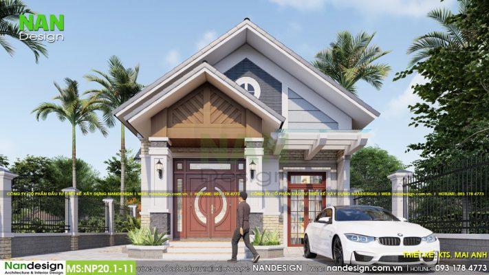 Thiết Kế Thiết Kế Nhà Mặt Tiền 8m Mẫu Nhà Cấp 4 8x20 ĐẹpMặt Tiền 8m Mẫu Nhà Cấp 4 Đẹp