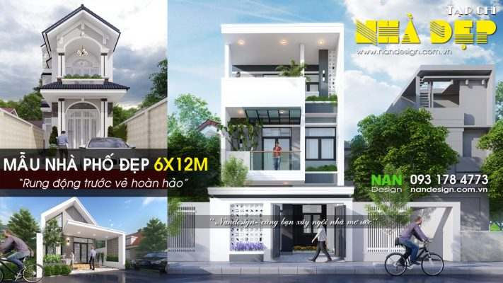 Bản Vẽ Nhà 6x12m
