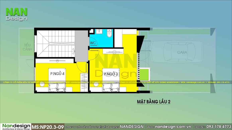 Bản Vẽ Mặt Bằng Lầu 2 Mẫu Thiết Kế Nhà 5x15m 3 Tầng Hiện Đại