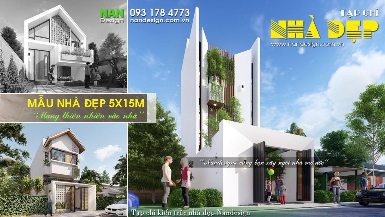 Mẫu Nhà Đẹp 5x15m