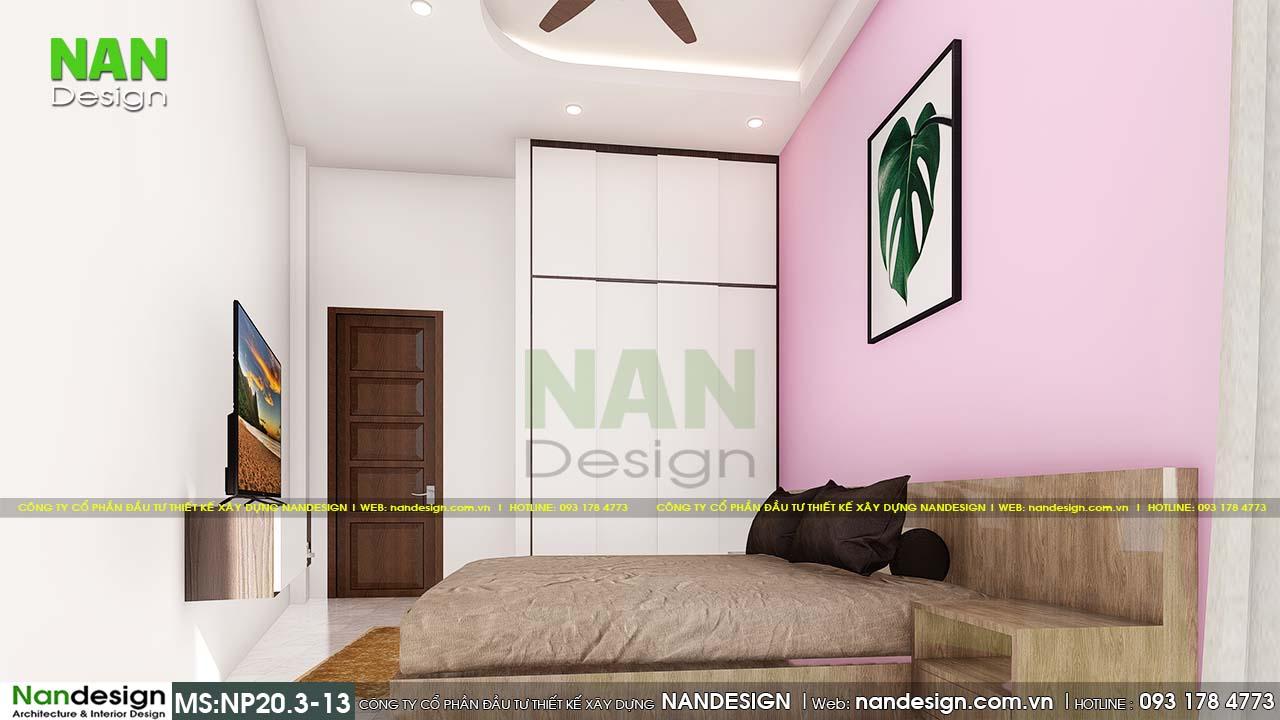 Nội Thất Phòng Ngủ 5 Với Màu Hồng Nhẹ Nhàng Dành Riêng Cho Bé Gái