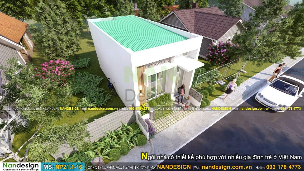 Ngôi Nhà Có Thiết Kế Phù Hợp Với Nhiều Gia Đình Trẻ Ở Việt Nam
